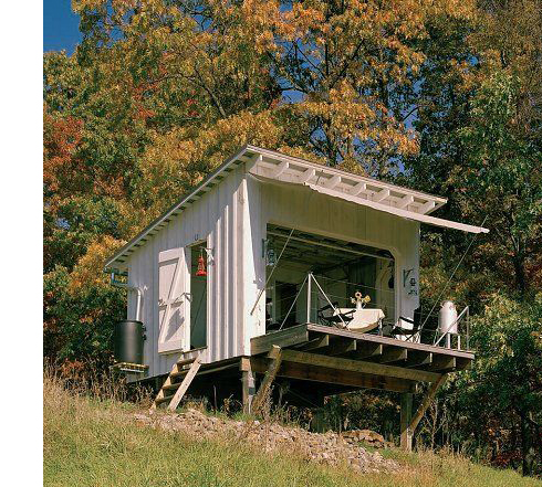 Lloyds Blog Tiny House in Remote West Virginia Hills