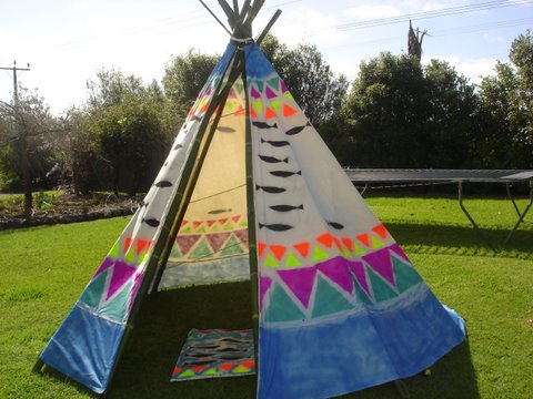 Plains Indian Tepee How To Make Erect And Decorate A