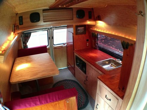 Homemade Wooden Pickup Truck Camper Shell The Shelter Blog