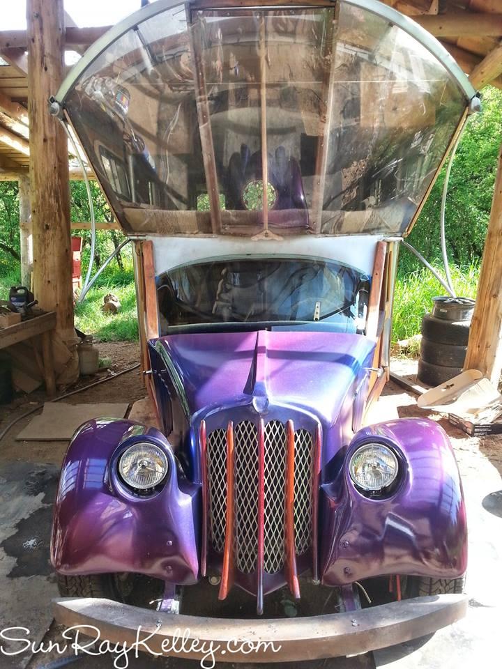 Gypsy Wagon, by Sun Ray Kelley
