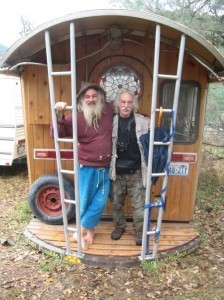 Sun Ray Kelley and Lloyd Kahn