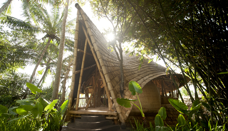 ... bali outside the town of ubud there s a village of 18 homes