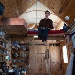 Doug Immel in His Tiny Home
