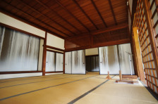 Interior of Japanese Inspired Home