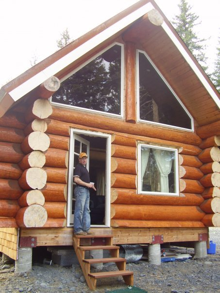 Building The Alaskan Log Cabin The Shelter Blog