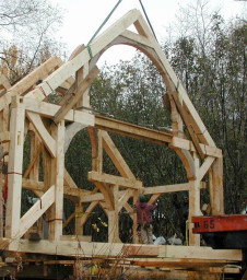 raising the frame