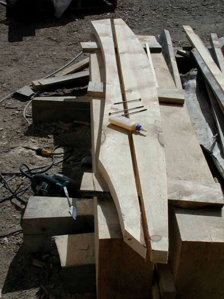 Jeff Dean S Curved Rafters The Shelter Blog