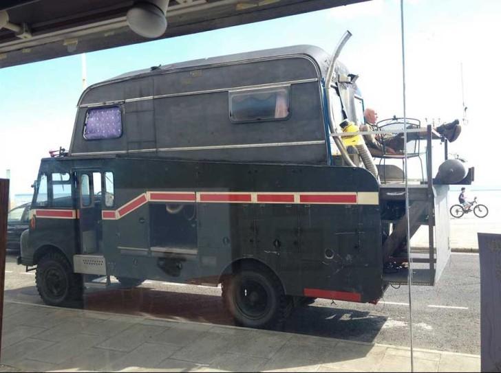 Fire truck caravan