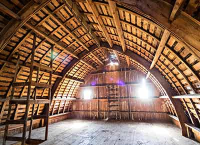 Curved Roof Barn in Oregon - The Shelter Blog