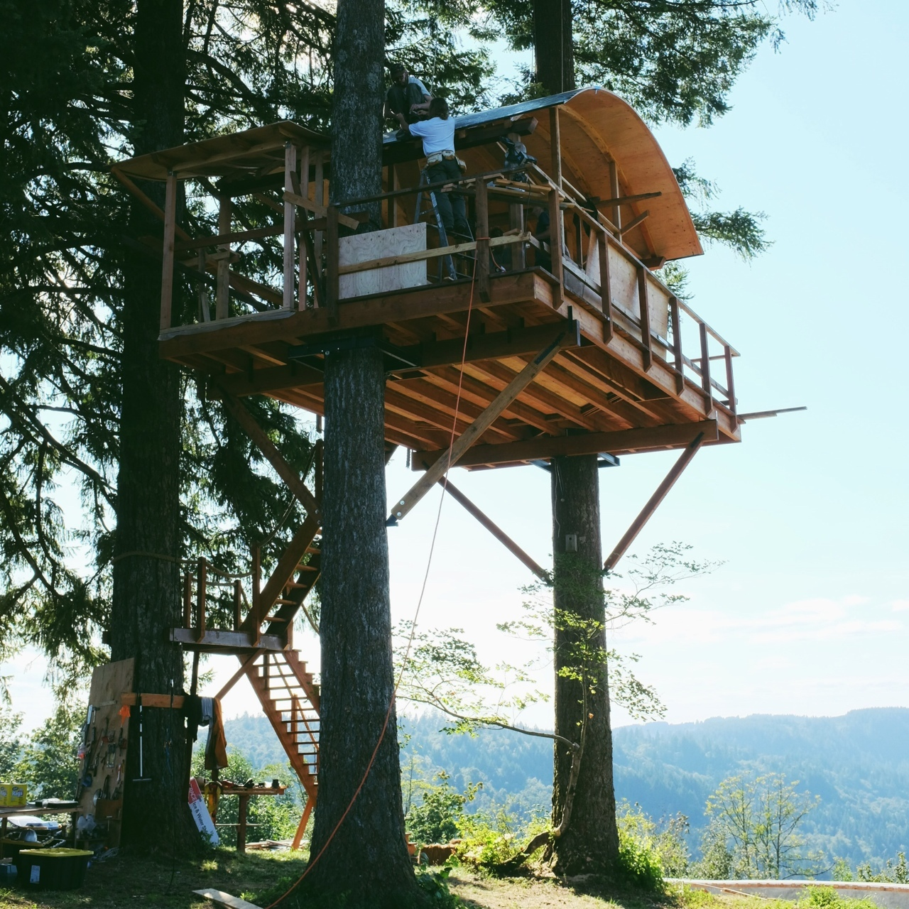 Tree Houses In Columbia River Gorge The Shelter Blog