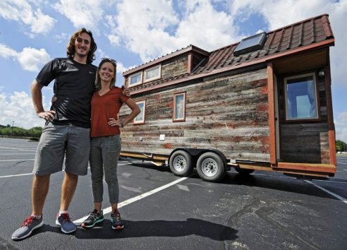 Student Hits Road in Tiny Home