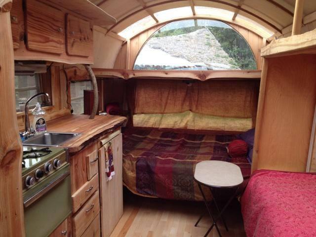 One Of A Kind Sunray Kelley Custom Gypsy Wagon The