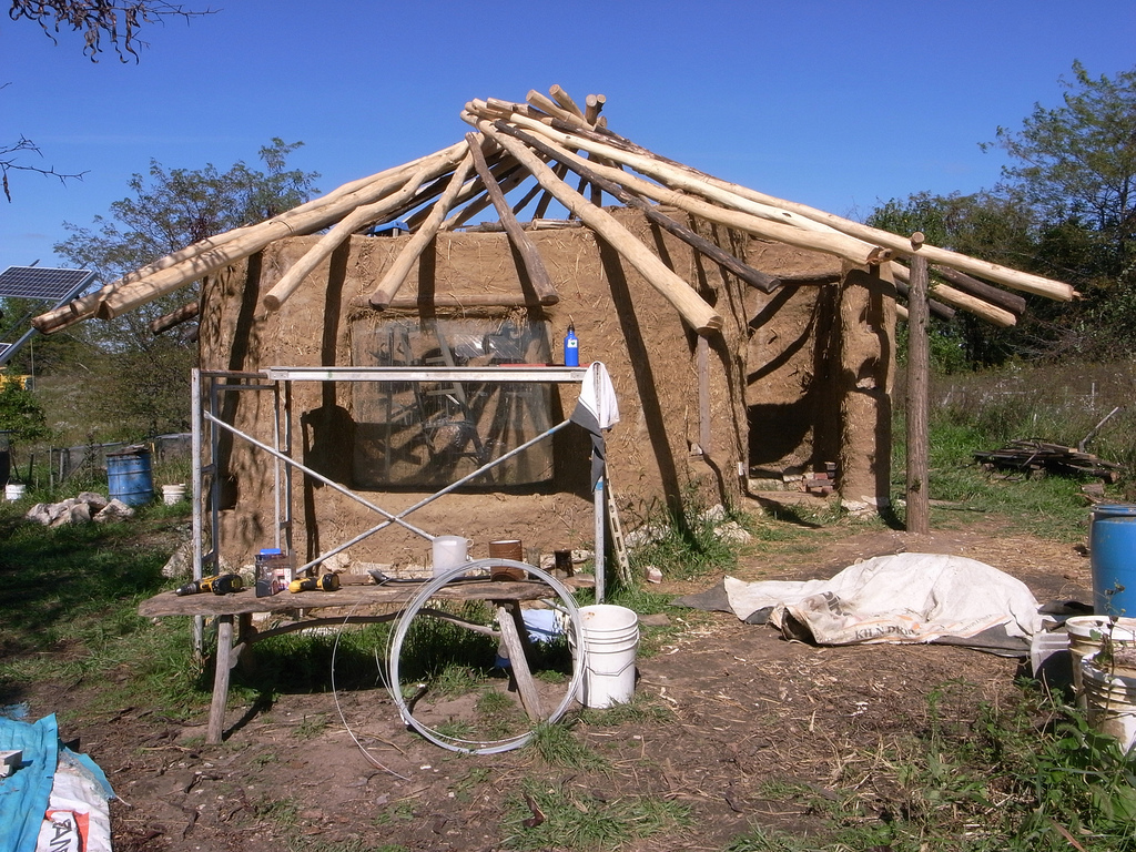 ^ How to Build a eciprocal oof Frame - he Shelter Blog