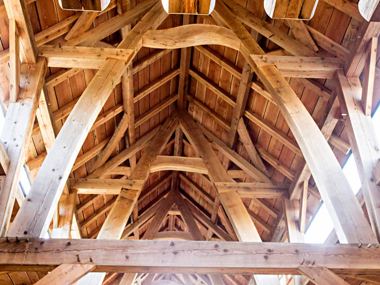 Oregon Timber Frame Barn 2014 | The Shelter Blog