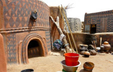 Earth houses of burkina