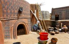 Earth houses of burkina