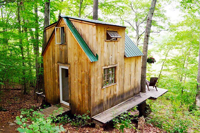 Tiny Home in Woods