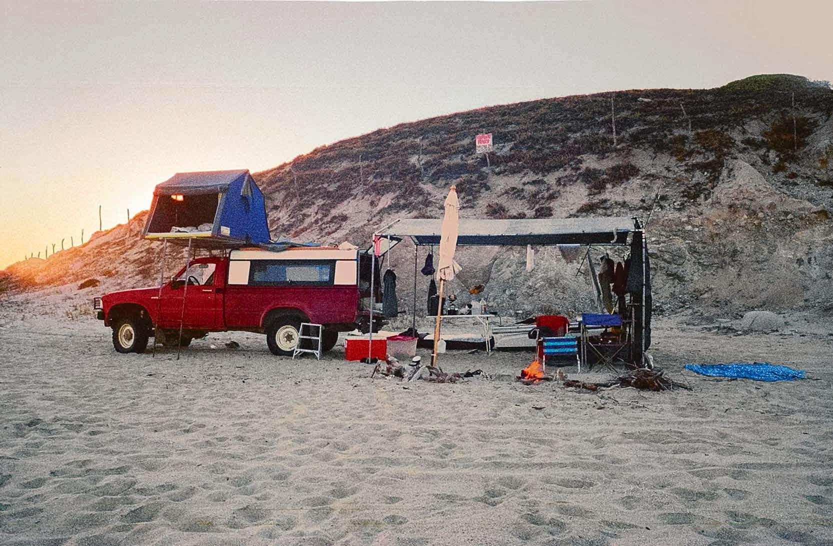 Truck Camping Shelter : Lloyd s camping vehicles part the shelter