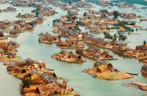 www.messynessychic.com:2014:11:12:the-floating-basket-homes-of-iraq-a-paradise-almost-lost-to-saddam: