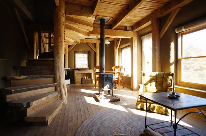 Straw Bale And Timber Frame Home The Shelter Blog