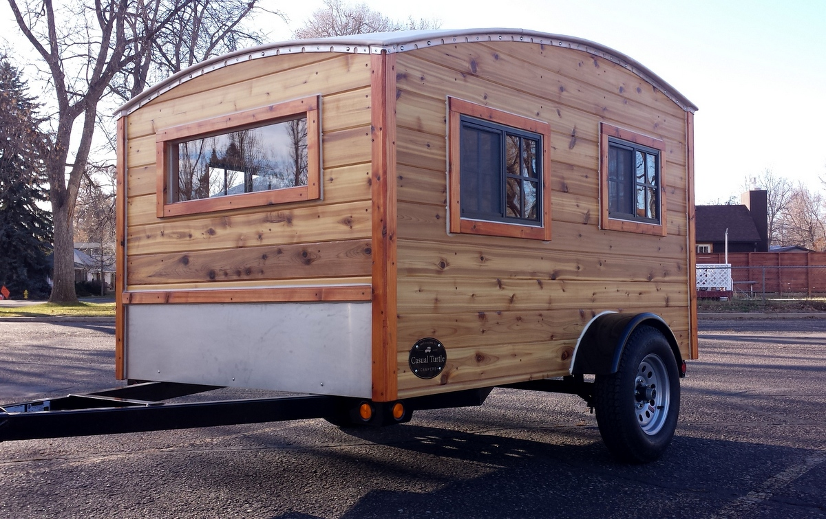 Casual Turtle's Teardrop Camper - The Shelter Blog
