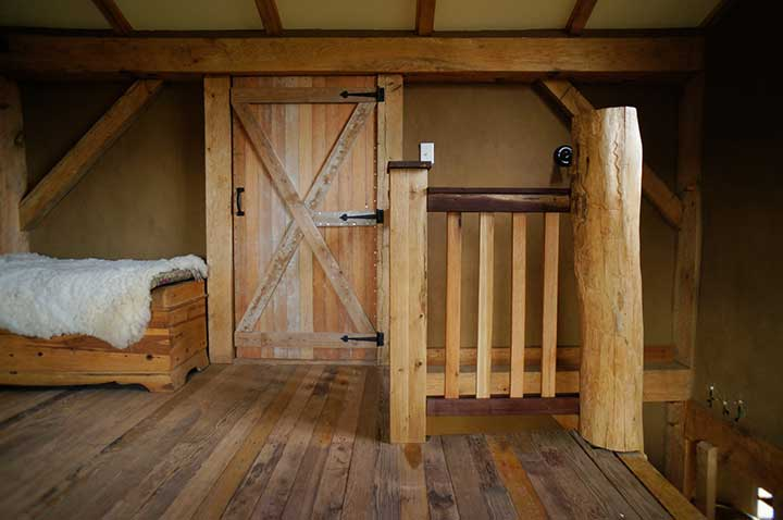 Anyway, Our House Is A Combination Sawn Timber And Roundwood Timber Frame,  99% Of Which Was Built With Hand Tools. Itu0027s Wrapped With Straw Bale Walls,  ...
