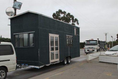 House on trailer