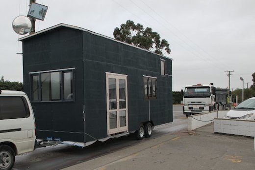 House on trailer