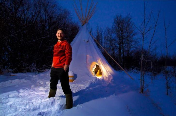 Teepee to Tiny House