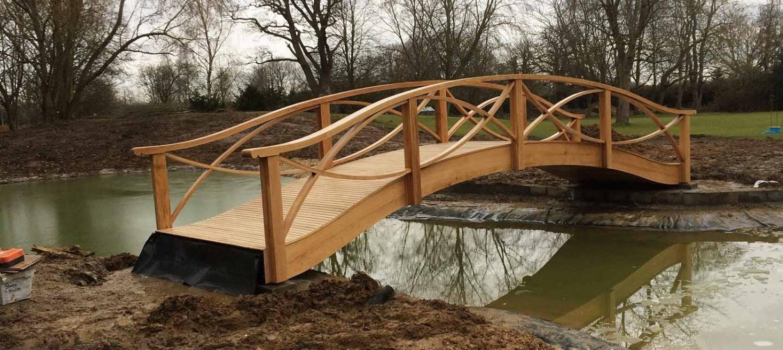 New Wooden Bridge in UK by Jonny Briggs