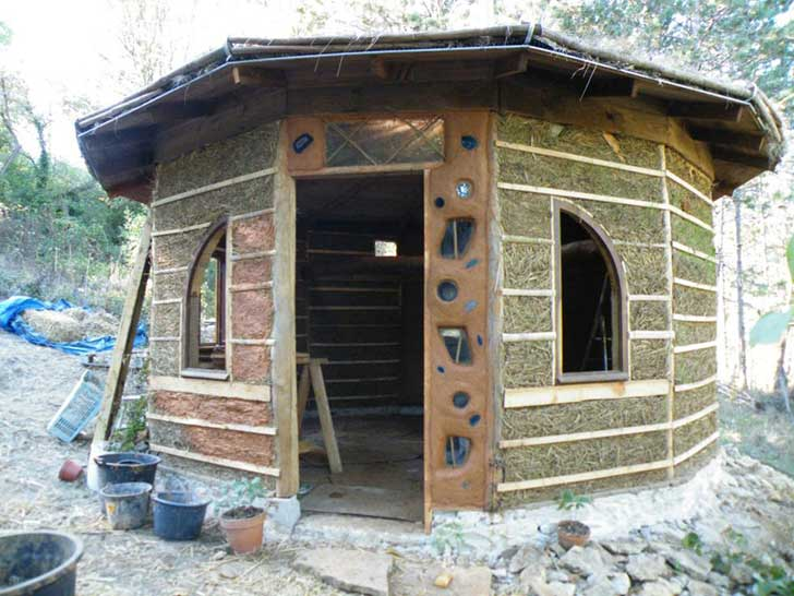 Cob Home With A Reciprocal Roof The Shelter Blog