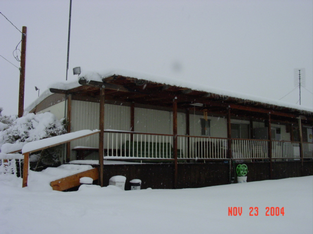 mobil in snow