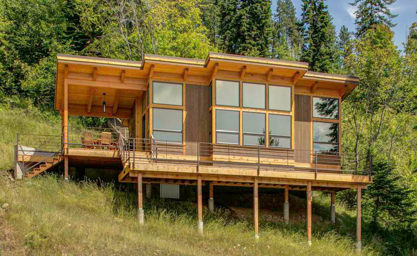 Wooden Cabin In Idaho   The Shelter Blog