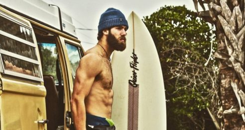 Daniel Norris and his VW van