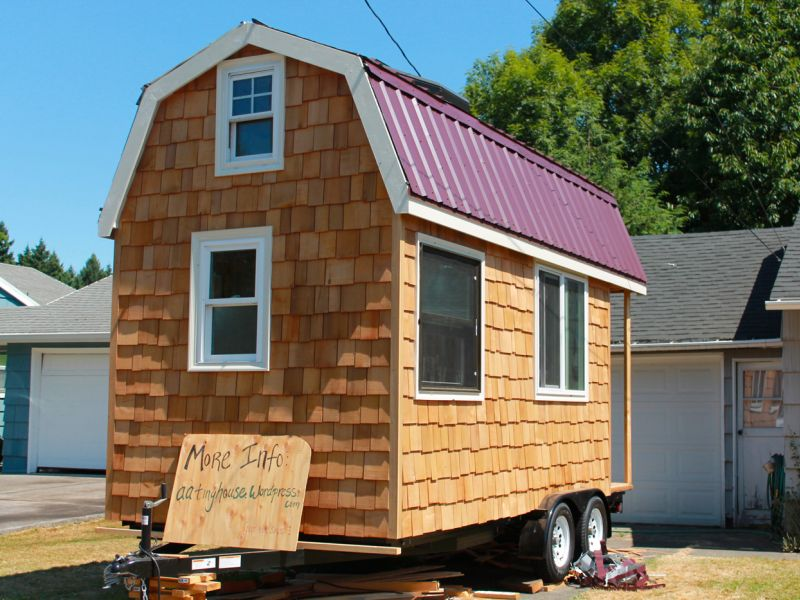 April anson s tiny house the shelter blog for Small house design trailer