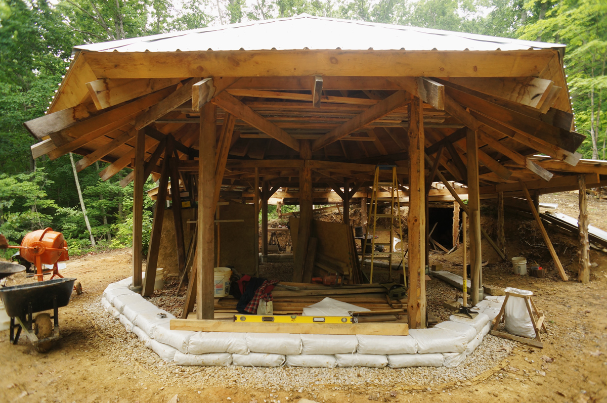 Off Grid Straw Bale Cabin In Kentucky Foothills The