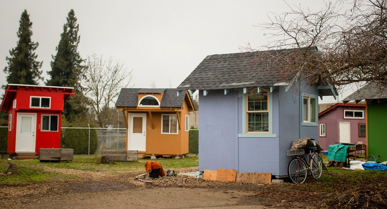 15 tiny home community for homeless proposed in eugene Small houses oregon