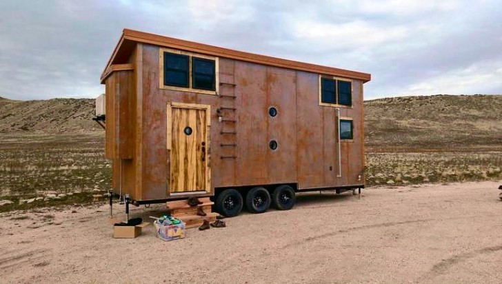Steampunk Tiny Home The Shelter Blog