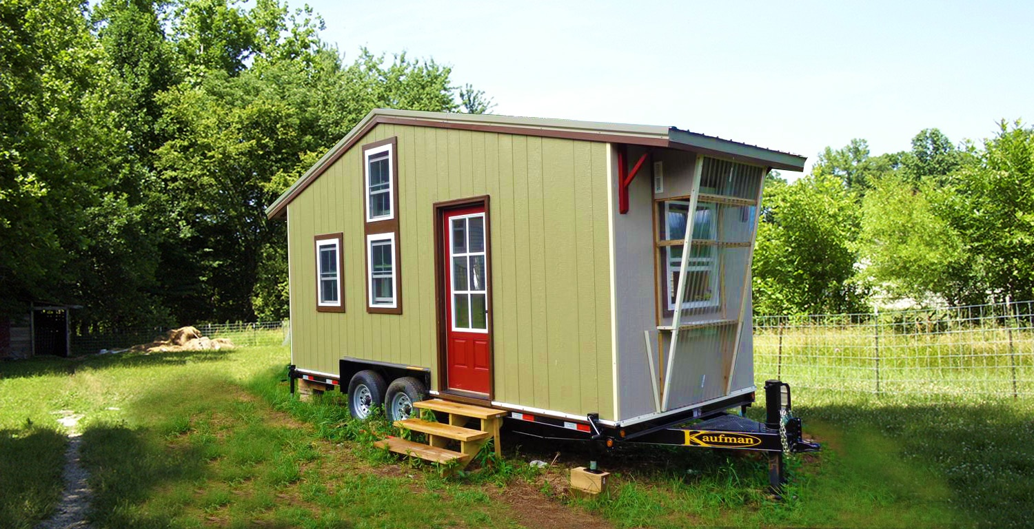 Tiny House for Sale in Asheville Tennessee The Shelter Blog