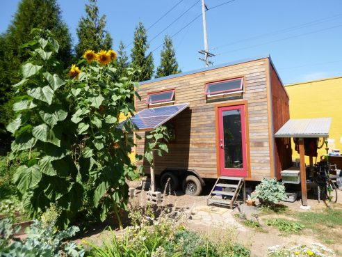 modern rustic tiny home