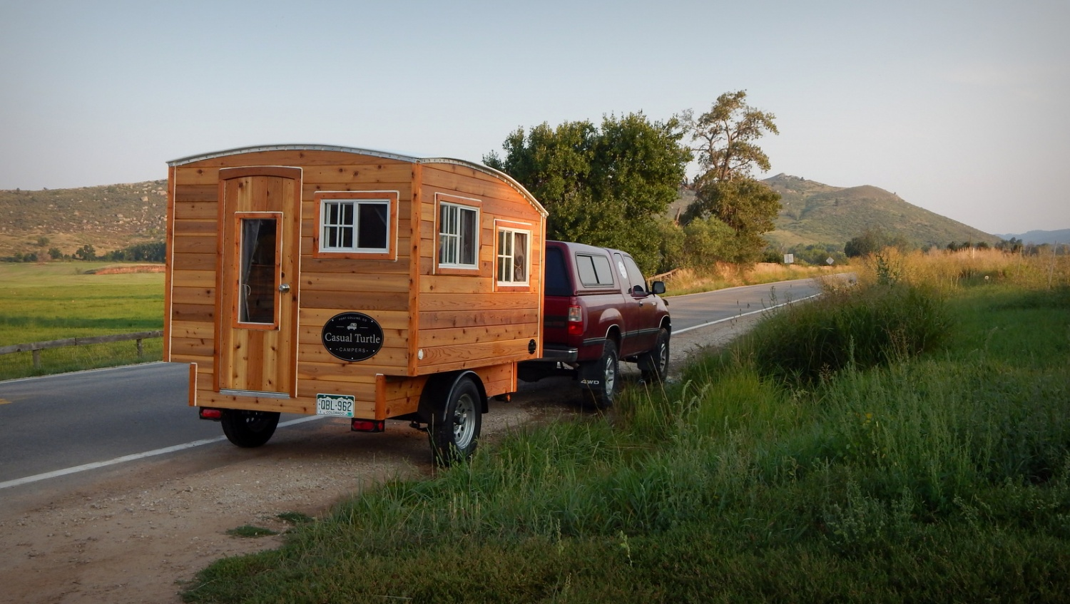 The terrapin trailer the shelter blog for Small homes built on trailers