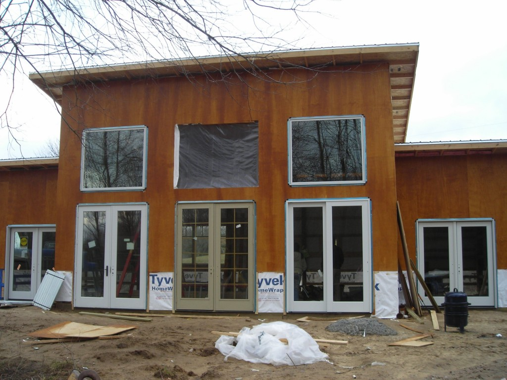 The pole barn house makes a great small home guest house cabin or cottage its simple shape makes it easy to build its 1085 square feet and features