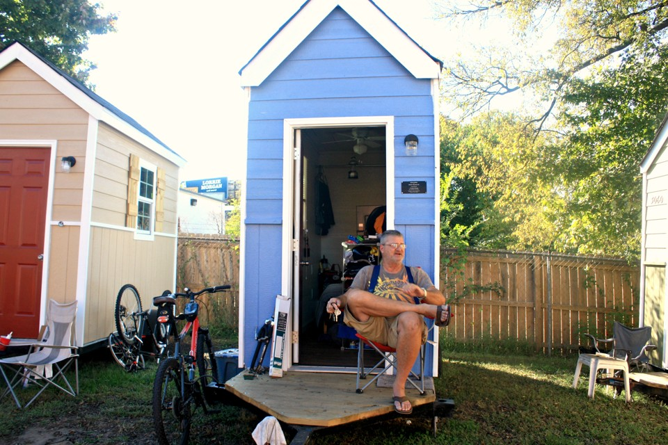 Tiny Homes For The Homeless The Shelter Blog