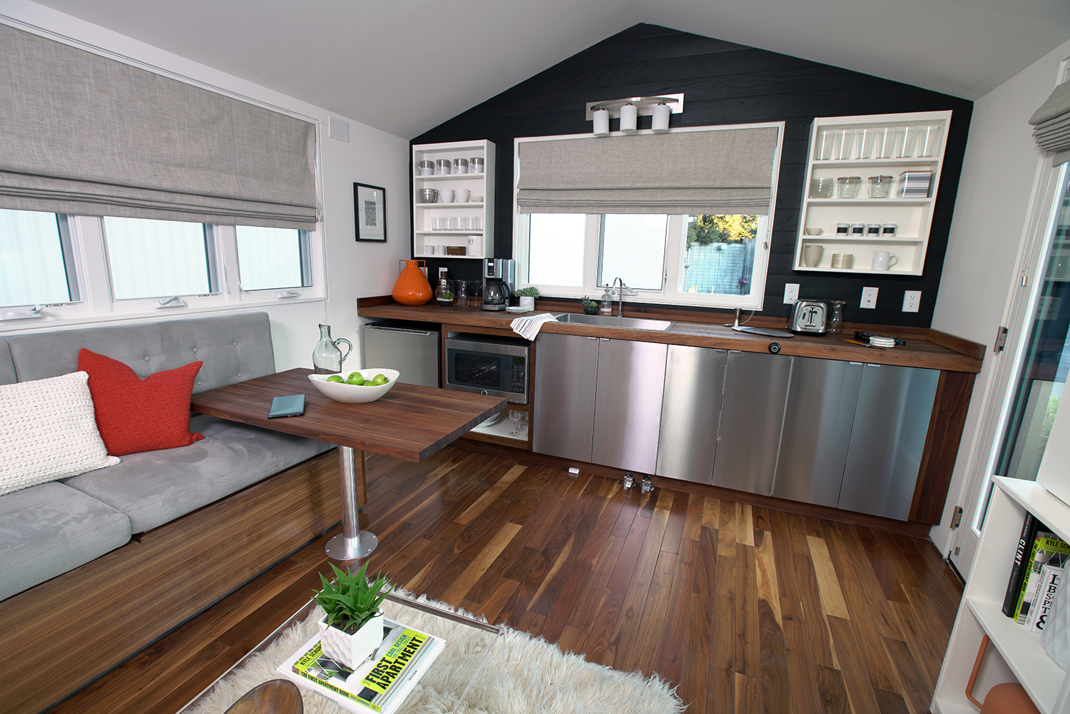 Intels 210 sq ft Smart Tiny Home The Shelter Blog