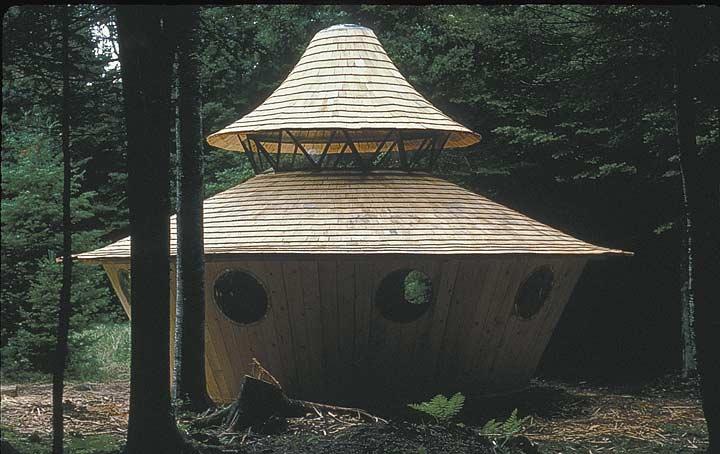 The Wooden Yurts Of Bill Coperthwaite The Shelter Blog
