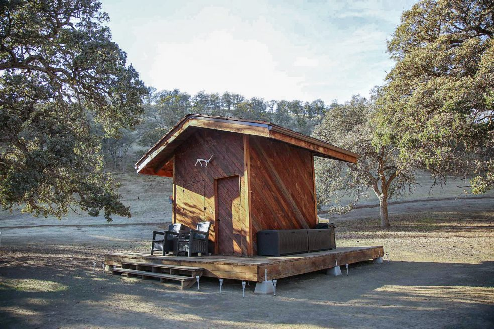 Governor Jerry Brown's Off-the-Grid Cabin