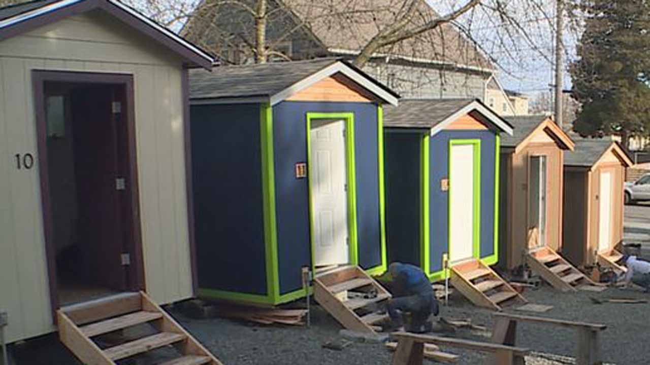 Seattle Has Tiny Houses for Homeless The Shelter Blog