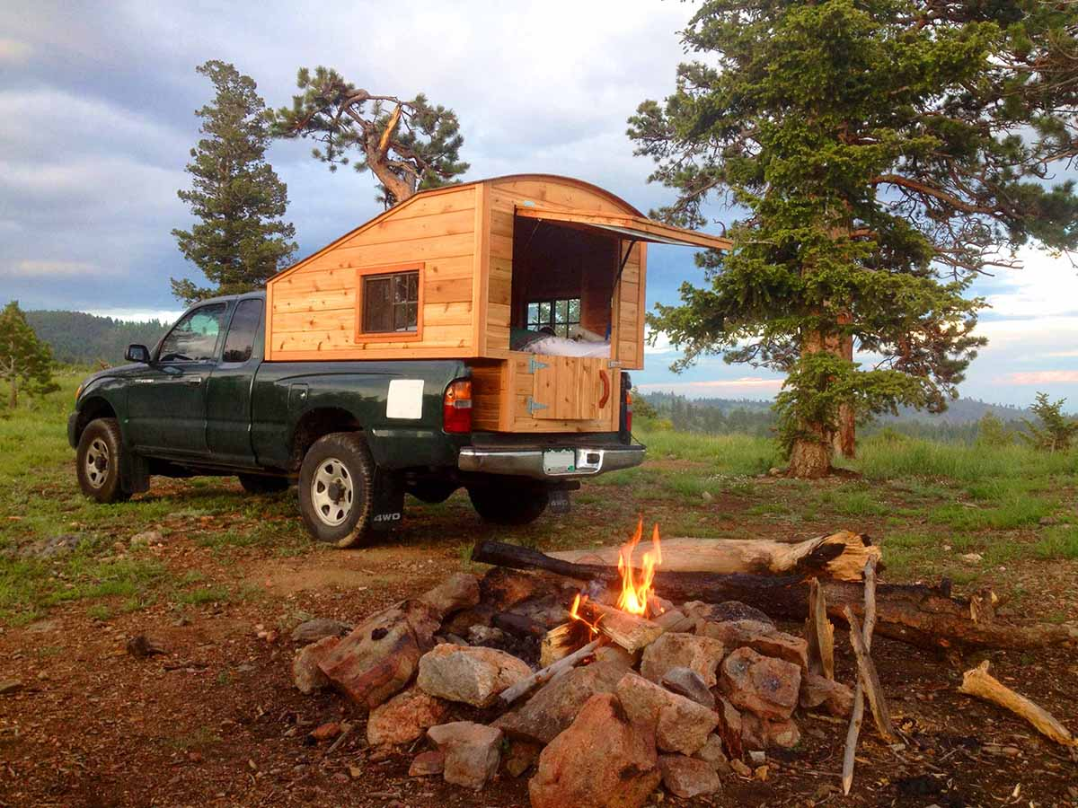 Truck Camping Shelter : Pickups with campers archives the shelter