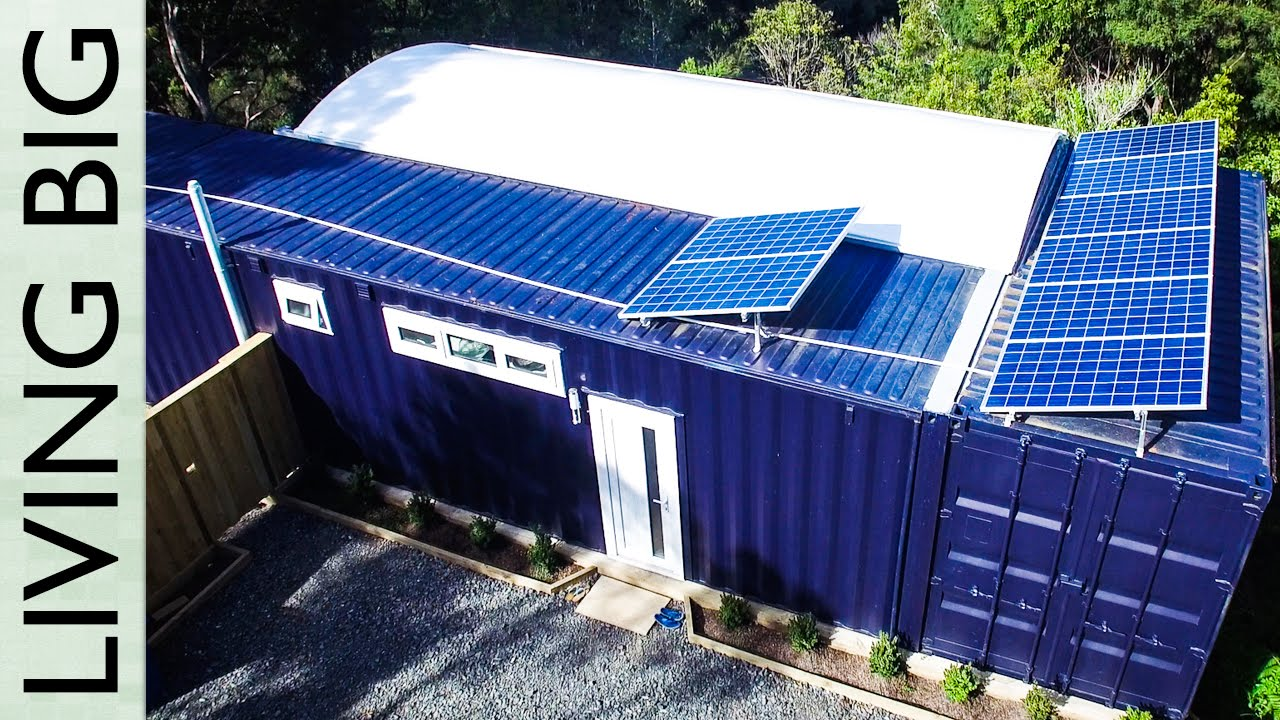 40 ft small shipping container home the shelter blog - 40ft shipping container home ...