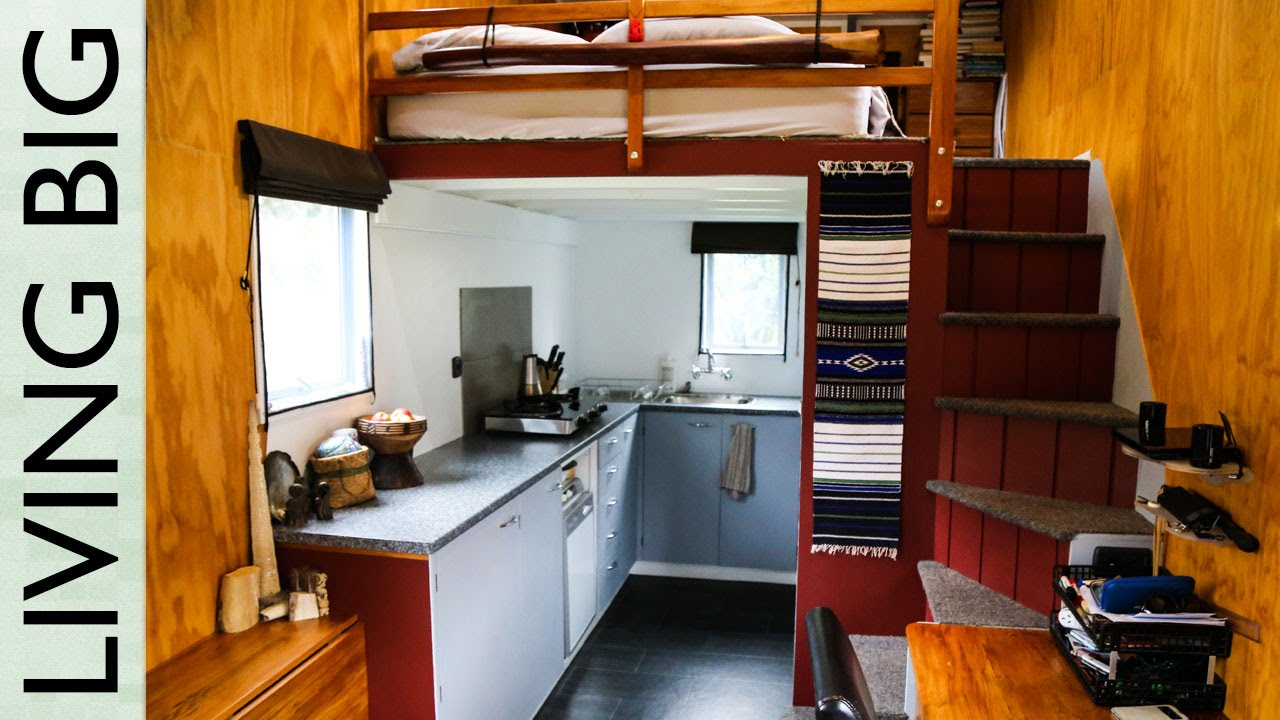 Two years in an off grid tiny house the shelter blog - The off grid tiny house ...